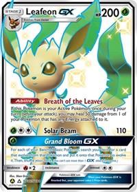 Leafeon GX, Pokemon, Hidden Fates: Shiny Vault