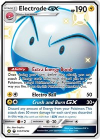 Electrode GX, Pokemon, Hidden Fates: Shiny Vault
