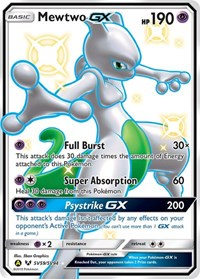 Mewtwo GX, Pokemon, Hidden Fates: Shiny Vault