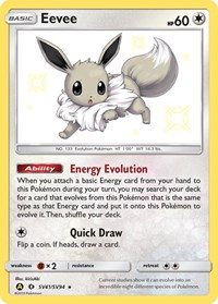 Eevee, Pokemon, Hidden Fates: Shiny Vault