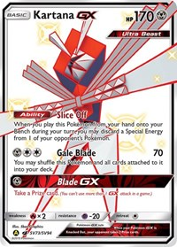 Kartana GX, Pokemon, Hidden Fates: Shiny Vault