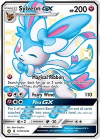 Sylveon GX, Pokemon, Hidden Fates: Shiny Vault