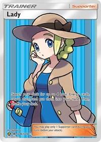 Lady, Pokemon, Hidden Fates: Shiny Vault