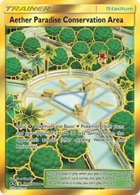 Aether Paradise Conservation Area, Pokemon, Hidden Fates: Shiny Vault