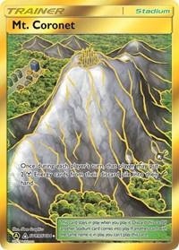 Mt. Coronet, Pokemon, Hidden Fates: Shiny Vault