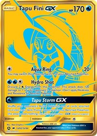 Tapu Fini GX, Pokemon, Hidden Fates: Shiny Vault