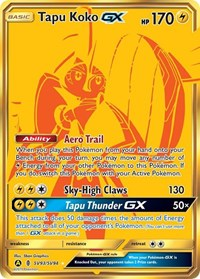 Tapu Koko GX, Pokemon, Hidden Fates: Shiny Vault