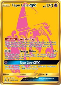 Tapu Lele GX, Pokemon, Hidden Fates: Shiny Vault