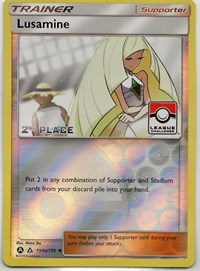Lusamine - 153a/156 (League Challenge) [2nd Place], Pokemon, League & Championship Cards