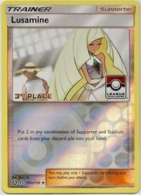 Lusamine - 153a/156 (League Challenge) [3rd Place], Pokemon, League & Championship Cards