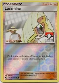 Lusamine - 153a/156 (League Challenge) [4th Place], Pokemon, League & Championship Cards