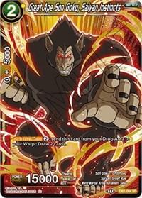 Great Ape Son Goku, Saiyan Instincts, Dragon Ball Super CCG, Draft Box 04 - Dragon Brawl