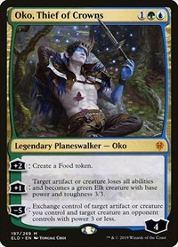 Oko, Thief of Crowns, Magic, Throne of Eldraine