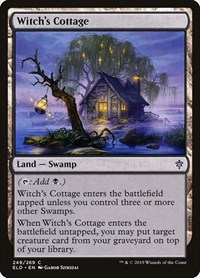 Witch's Cottage, Magic, Throne of Eldraine
