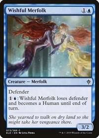 Wishful Merfolk, Magic, Throne of Eldraine