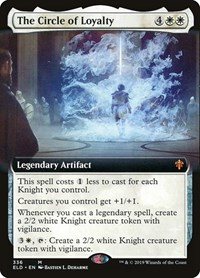 The Circle of Loyalty (Extended Art), Magic: The Gathering, Throne of Eldraine
