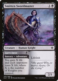Smitten Swordmaster, Magic: The Gathering, Throne of Eldraine