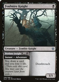 Foulmire Knight, Magic: The Gathering, Throne of Eldraine