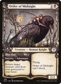Order of Midnight (Showcase), Magic: The Gathering, Throne of Eldraine