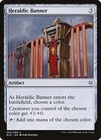 Heraldic Banner, Magic: The Gathering, Throne of Eldraine