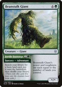 Beanstalk Giant, Magic: The Gathering, Throne of Eldraine