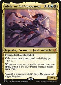 Alela, Artful Provocateur, Magic: The Gathering, Throne of Eldraine