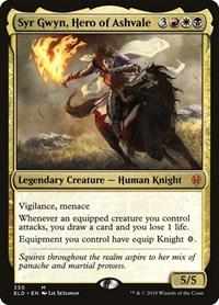 Syr Gwyn, Hero of Ashvale, Magic: The Gathering, Throne of Eldraine