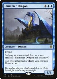 Shimmer Dragon, Magic: The Gathering, Throne of Eldraine