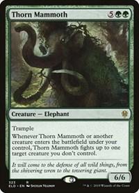 Thorn Mammoth, Magic: The Gathering, Throne of Eldraine