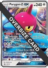 Porygon-Z GX - SM216 (SM Black Star Promo), Pokemon, Jumbo Cards