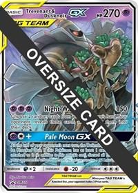 Trevenant & Dusknoir GX - SM217 (SM Black Star Promo), Pokemon, Jumbo Cards