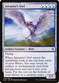 Arcanist's Owl, Magic, Throne of Eldraine