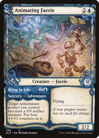 Animating Faerie (Showcase), Magic: The Gathering, Throne of Eldraine