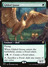 Gilded Goose (Extended Art), Magic: The Gathering, Throne of Eldraine