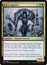 Savvy Hunter, Magic: The Gathering, Throne of Eldraine