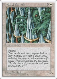 Wall of Swords, Magic: The Gathering, Fourth Edition