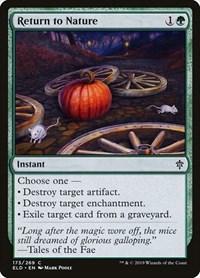 Return to Nature, Magic: The Gathering, Throne of Eldraine