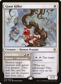 Giant Killer, Magic: The Gathering, Throne of Eldraine