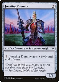 Jousting Dummy, Magic: The Gathering, Throne of Eldraine