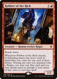 Robber of the Rich, Magic: The Gathering, Throne of Eldraine
