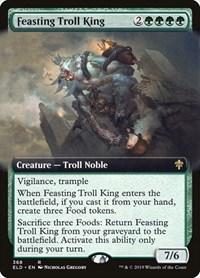 Feasting Troll King (Extended Art) (Foil)