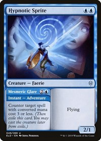 Hypnotic Sprite, Magic: The Gathering, Throne of Eldraine