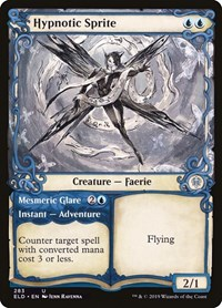 Hypnotic Sprite (Showcase), Magic: The Gathering, Throne of Eldraine