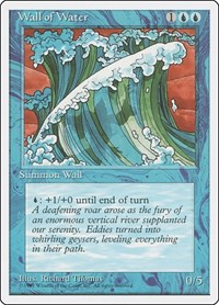 Wall of Water, Magic: The Gathering, Fourth Edition
