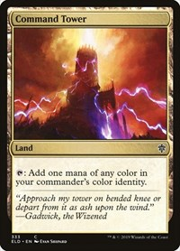Command Tower, Magic: The Gathering, Throne of Eldraine