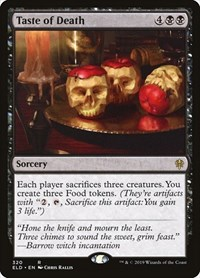 Taste of Death, Magic: The Gathering, Throne of Eldraine