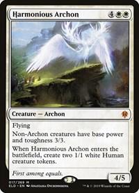 Harmonious Archon, Magic: The Gathering, Throne of Eldraine