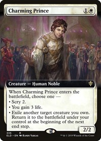 Charming Prince (Extended Art), Magic: The Gathering, Throne of Eldraine