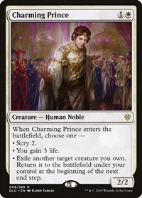 Charming Prince, Magic: The Gathering, Throne of Eldraine