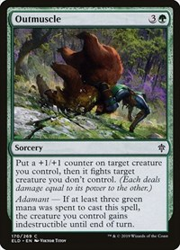 Outmuscle, Magic: The Gathering, Throne of Eldraine